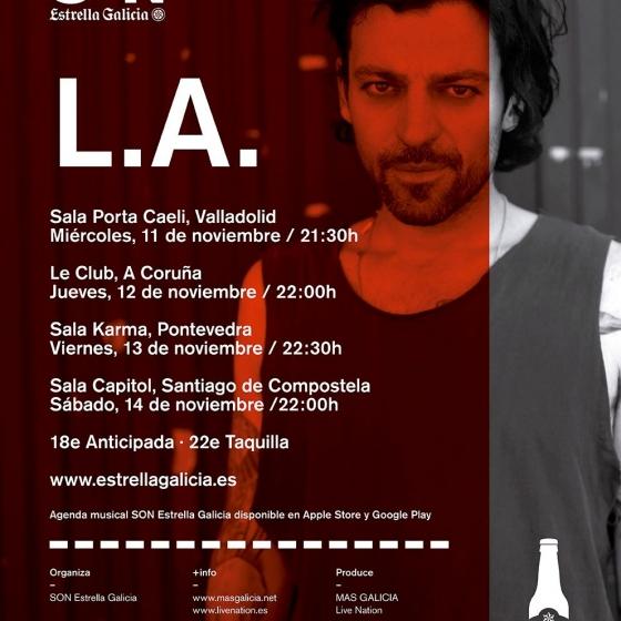 El City/Ocean Tour pasará por Valladolid, Coruña, Pontevedra y Santiago.