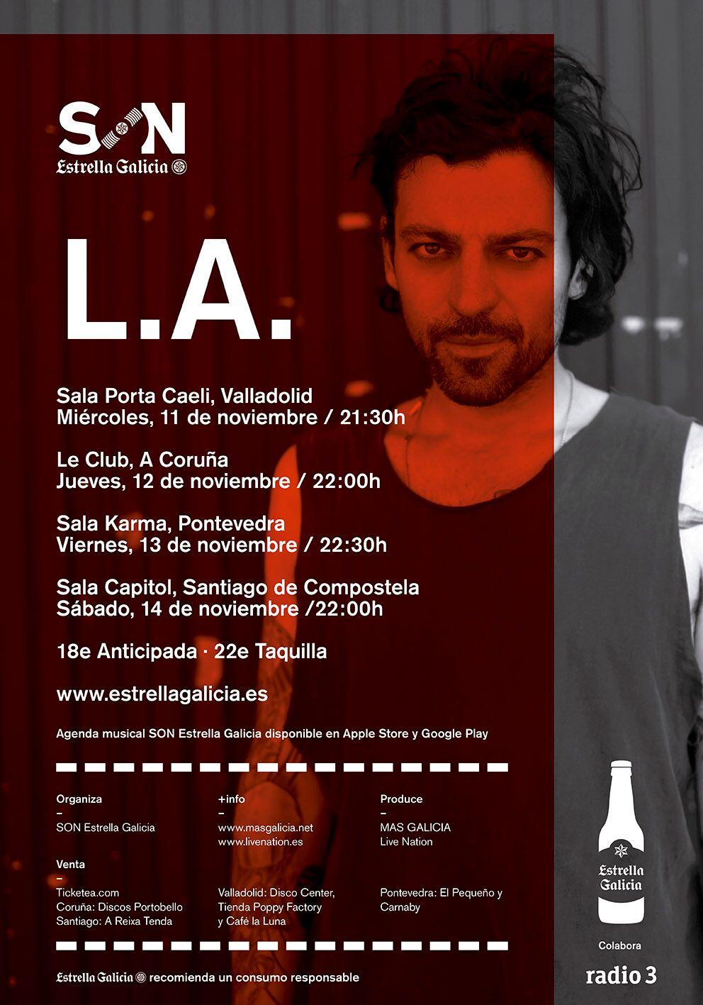 poster Galicia shows
